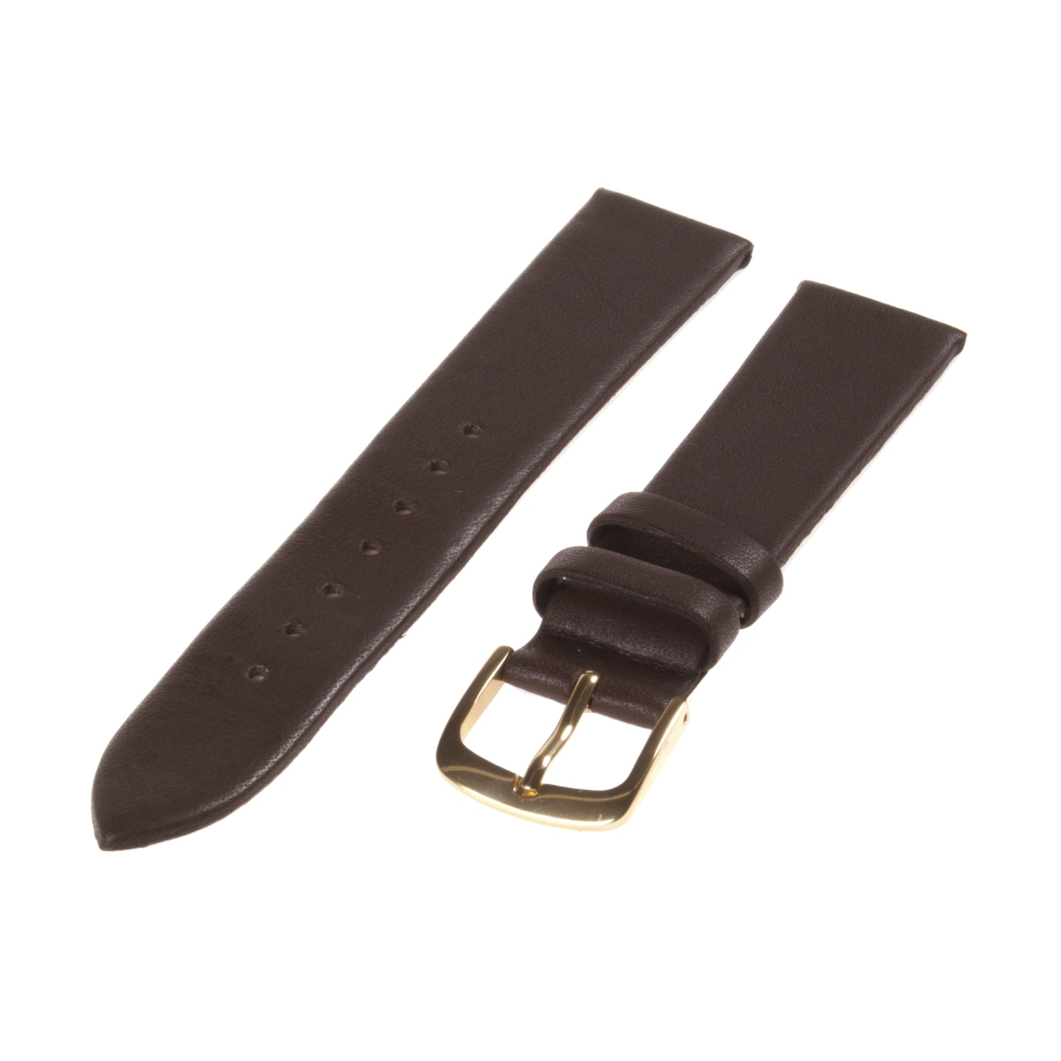 Republic Men's Brown Smooth Leather Watch Strap