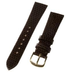 Republic Men's Brown Genuine Java Lizard Watch Strap
