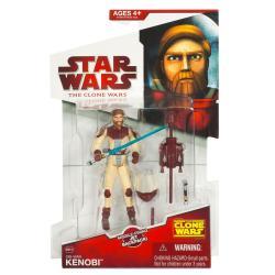 Star Wars Clone Wars Animated ObiWan Kenobi Firing Backpack