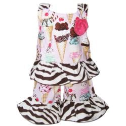 AnnLoren 2-piece Ice Cream Cone American Girl Doll Outfit