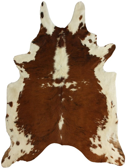 nuLOOM Hand-picked Brazilian Tricolor Cowhide Rug (5' x 7')