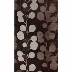nuLOOM Handmade Blossom New Zealand Wool Rug (5' x 8')
