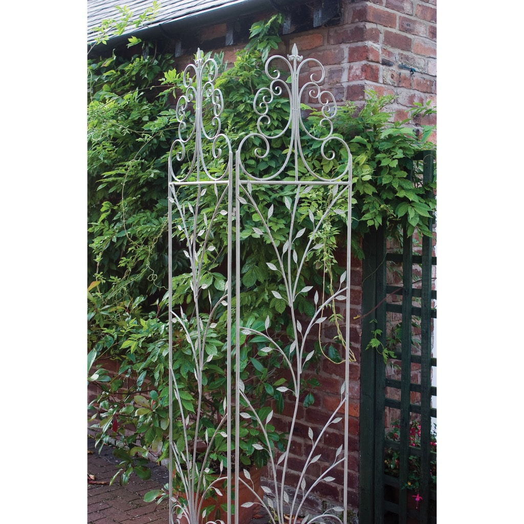 Laura Ashley Oyster Metal Decorative Partition