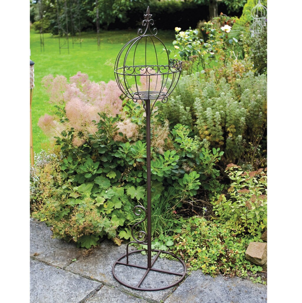 Laura Ashley Oyster Ball Plant Stand