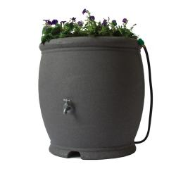 Algreen 'Barcelona' Dark Granite 100-gallon Rain Barrel