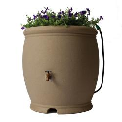Algreen 100-Gallon Sandstone Barcelona Rain Barrel