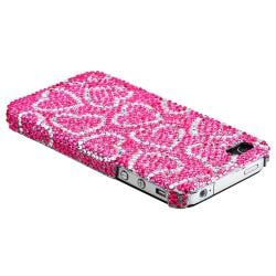 Pink Case/ LCD Protector/ Armband/ Headset/ Wrap for Apple iPhone 4S