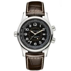Hamilton Men's Khaki and Navy Utc Black Dial Watch