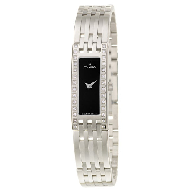 Movado Women's 'Esperanza' Stainless Steel Quartz Watch