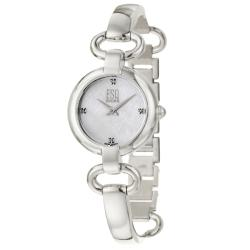 Esq by Movado Kali 7101339 Silver Stainless-Steel Swiss Quartz Watch with Mother-Of-Pearl Dial