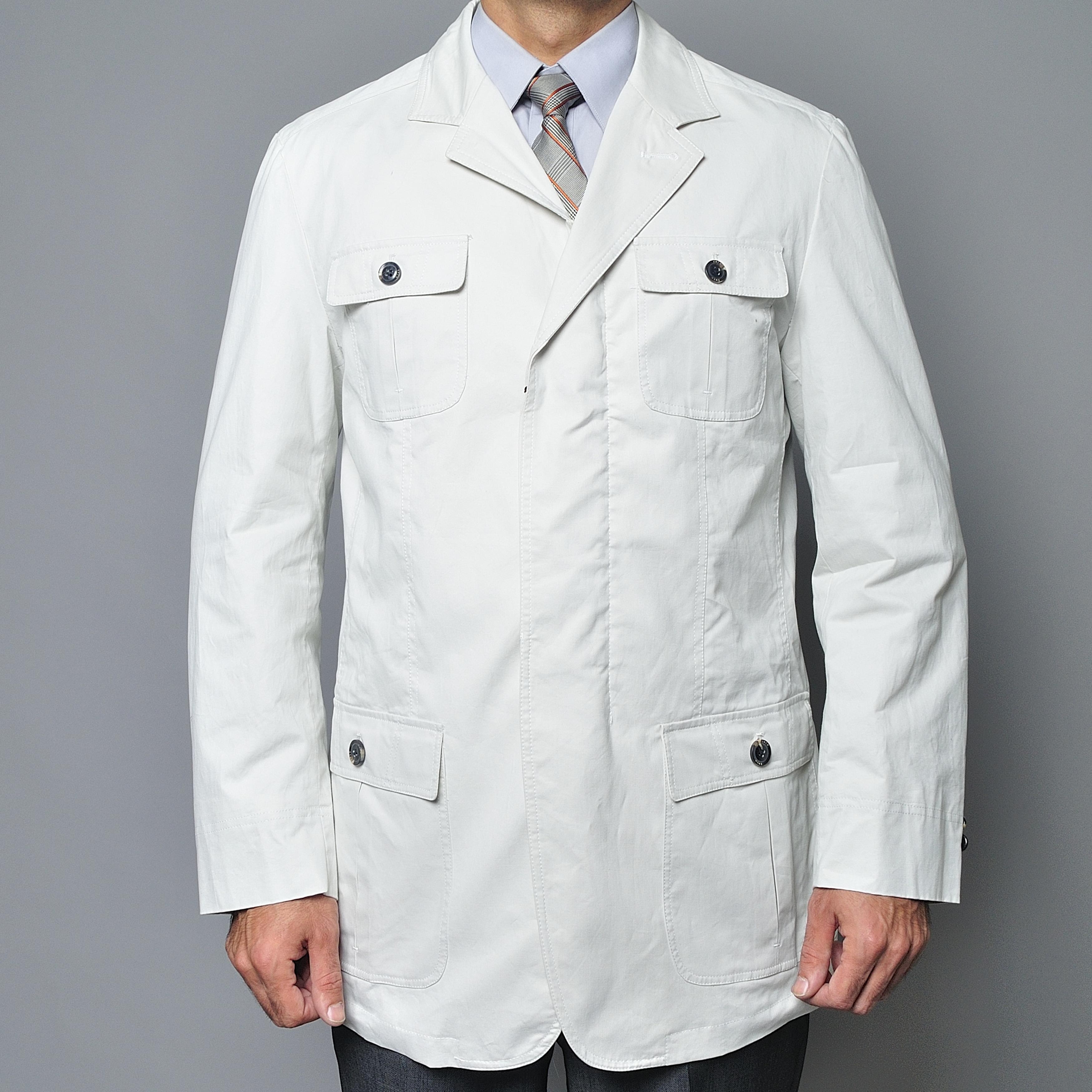 Men's Bone Cotton Jacket