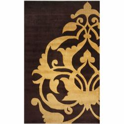 nuLOOM Handmade New Zealand Wool Rug (7'6 x 9'6)
