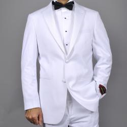 Giorgio Fiorelli Men's White 2-Button Tuxedo