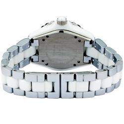 Akribos XXIV Midsize Women's Two-tone Ceramic Bracelet Watch