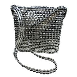 Roxanne Recycled Poptop Shoulder Bag (Mexico)