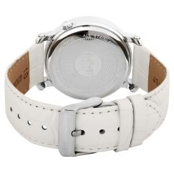 August Steiner Women's Stainless Steel Strap Watch
