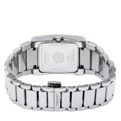 Tissot Women's 'Generosi' Black Dial Stainless Steel Quartz Watch