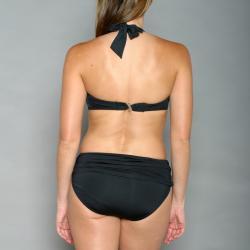 Jantzen Women's Size 6 Black Halter Top Bikini