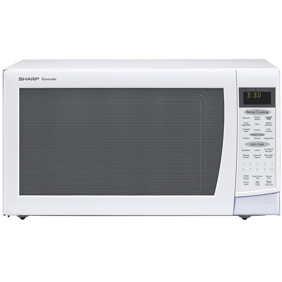 Sharp 2.0 Cubic Feet Countertop Microwave Oven - 14072623 - Overstock ...