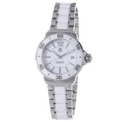 Tag Heuer Women's WAH1211.BA0861 'Formula 1' Stainless Steel White Ceramic Watch