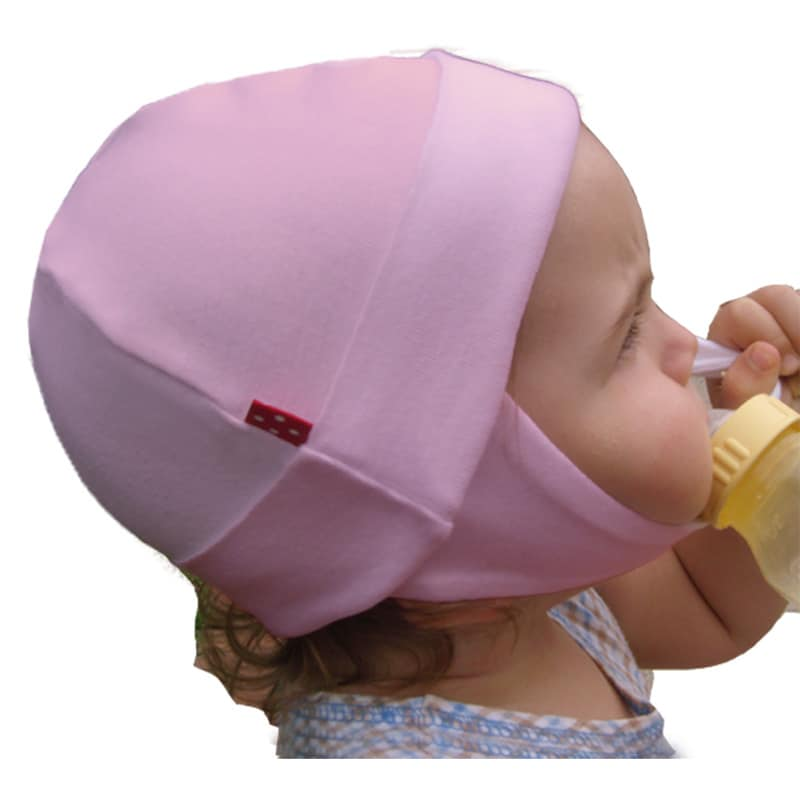 Dots on Tots Baby Organic Cotton and Fleece Ear-Flap Hat