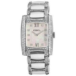 Ebel Women's 'Brasilia' Mini Mother of Pearl Dial Watch
