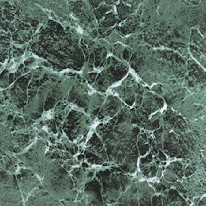 Self Adhesive Green Marble Vinyl Floor Tiles 12 X 12 60