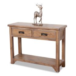 Blanched Oak Sofa Table