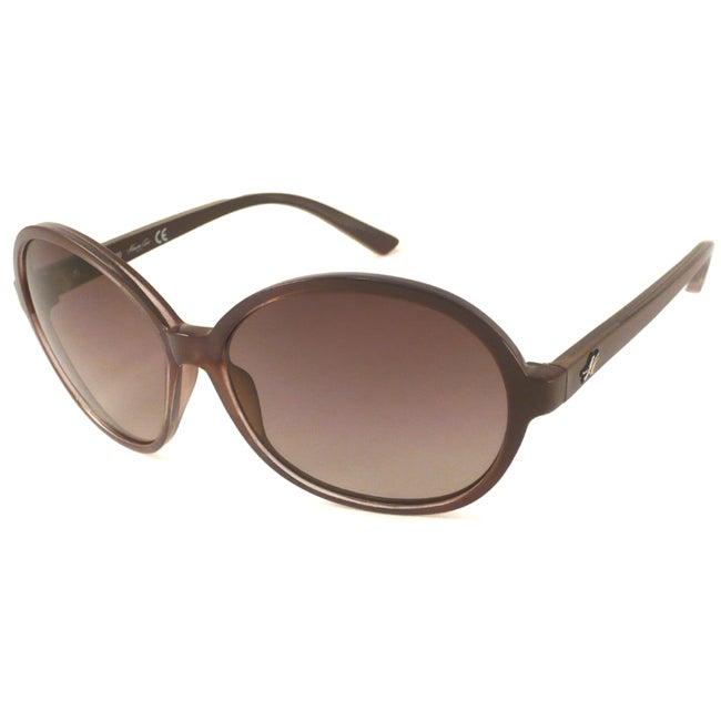 Kenneth Cole Reaction KC6072S Women's Oval Sunglasses