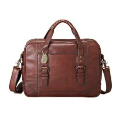 Fossil 'Lineage' Brown Leather Handbag