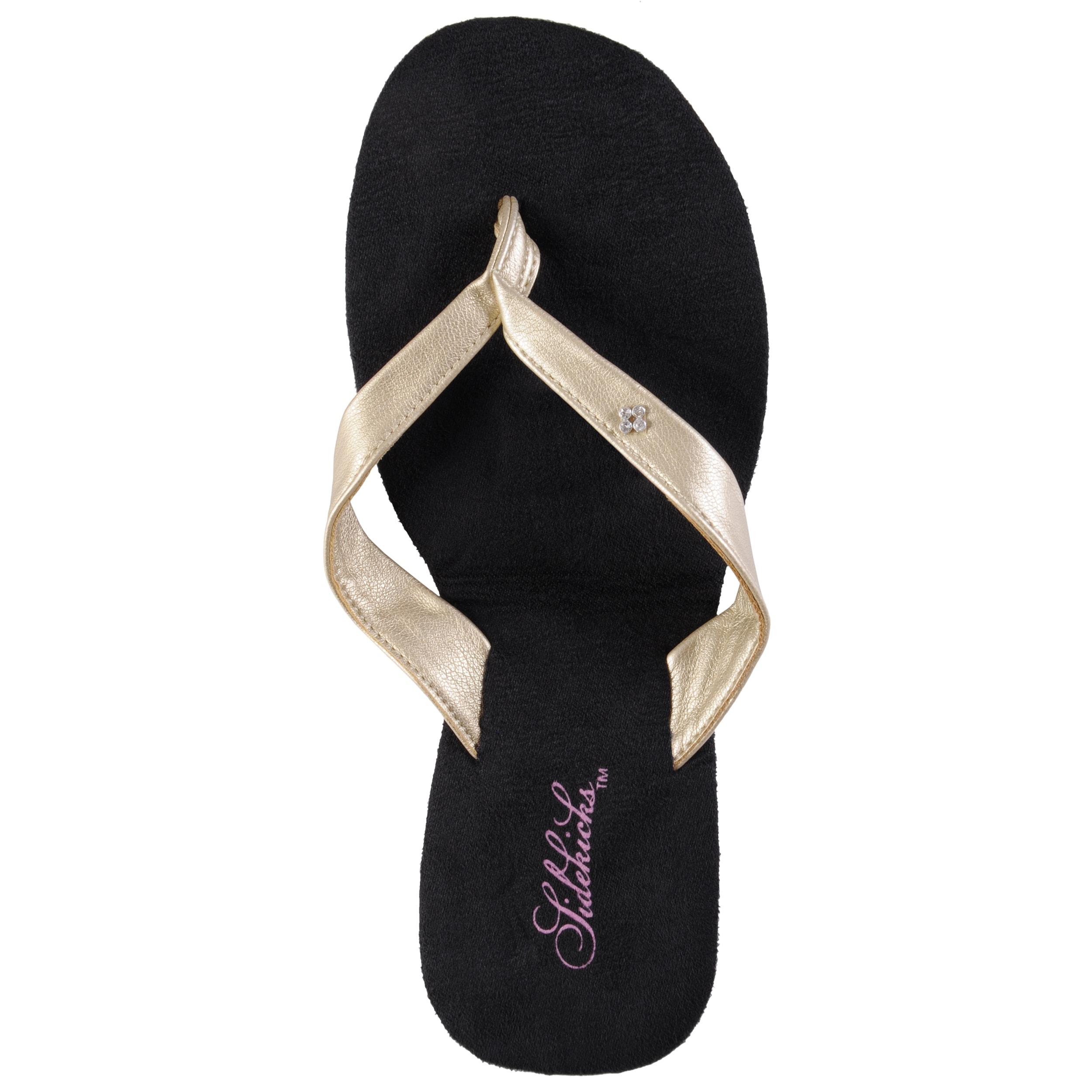 Sidekicks Women's Foldable Flip Flop Sandals