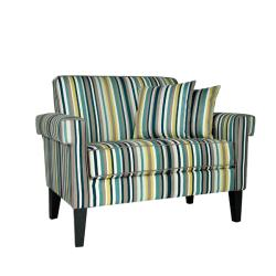 angelo:HOME Ennis Shoreline Aqua Blue 3-piece Sofa Collection
