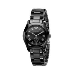 Emporio Armani Women's Ceramic Black Watch