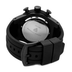 Swiss Legend Men's 'Neptune' Black Dial Black Rubber Chronograph Watch