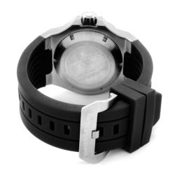 Swiss Legend Men's 'Abyssos' Black Dial Black Silicon Automatic Watch