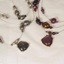 Peyote Bird Designs 'Pearl Illusion' Bead Necklace (China)