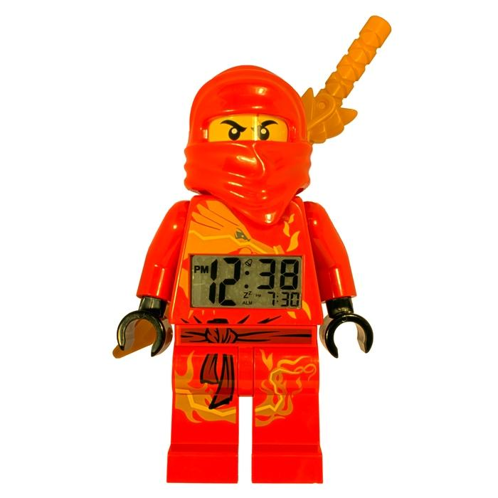 LEGO Ninjago Kai Mini-figure Alarm Clock with Detachable Sword