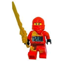 LEGO Ninjago Kai Mini-figure Alarm Clock with Detachable Sword