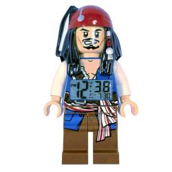 LEGO Pirates of the Caribbean Jack Sparrow Mini-Figure Alarm Clock
