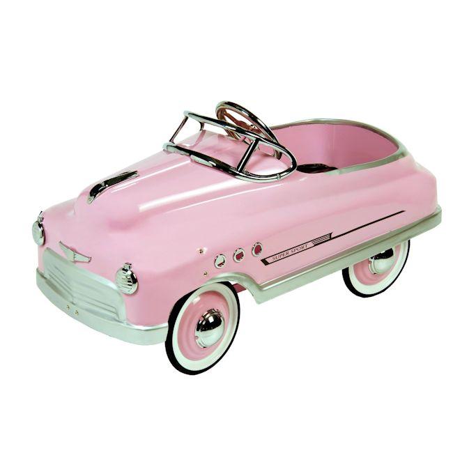 Classic Pink Comet Sedan Pedal Car