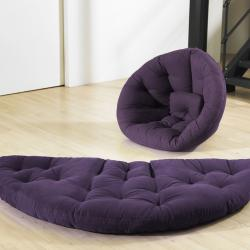 Purple Fresh Futon Nest