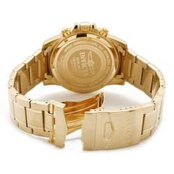 Invicta Men's 'Invicta II' 18-karat Goldplated Chronograph Watch