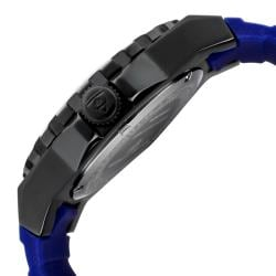 Swiss Legend Men's 'Expedition' Blue Dial Blue Silicon Watch