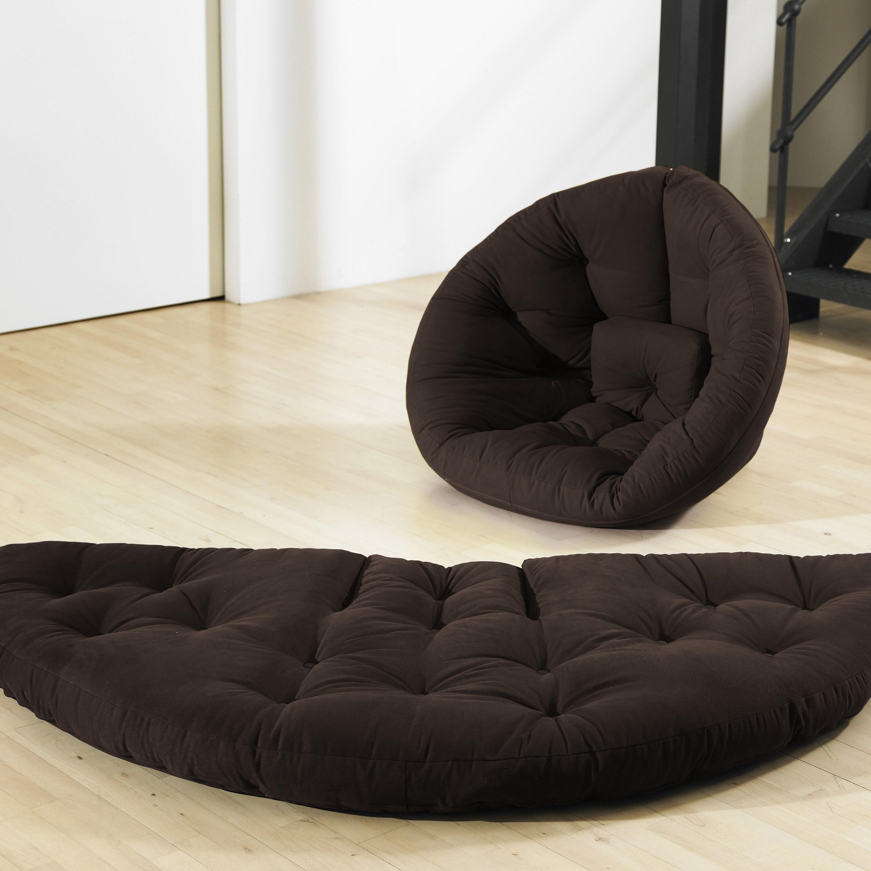 Chocolate Brown Fresh Futon Nest
