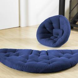Royal Blue Fresh Futon Nido