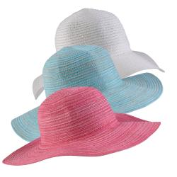 Hailey Jeans Co Sun Lily Women's Foldable Sun Hat Zippered Carrying Bag Set