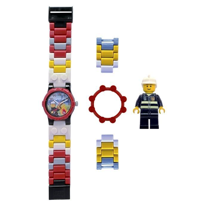 LEGO Children's 'City Fireman' Minifigure Watch