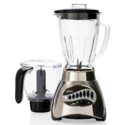 Oster 6878 16-Speed Glass Jar Blender w/ Food Processor