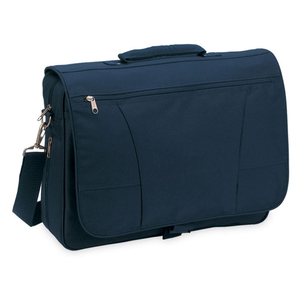 Office by O Toppers Travel 5313 16-inch Saddle Navy Brief Polyester Carry-on at Sears.com