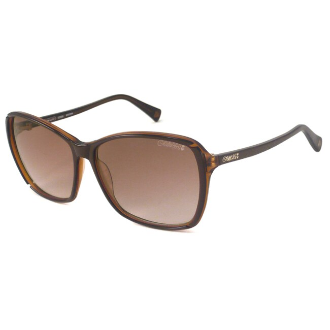 Coach S3006 Women's Oversize Sunglasses-Brown